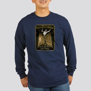 AHS Hotel Enjoy Your Stay Long Sleeve Dark T-Shirt