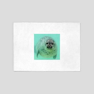 Seal 001 5'x7'Area Rug