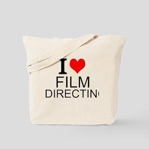 I Love Film Directing Tote Bag