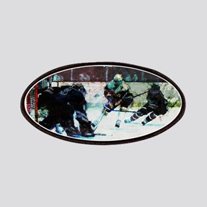 Grunge Hockey Match Patch