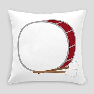 Bass Drum Everyday Pillow