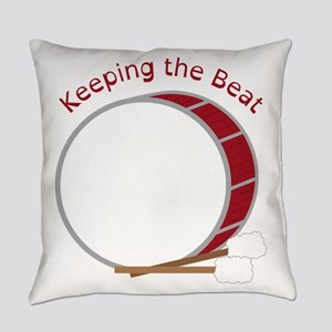 Keeping The Beat Everyday Pillow