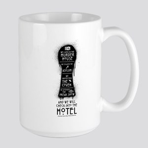 AHS Hotel Keyhole Large Mug