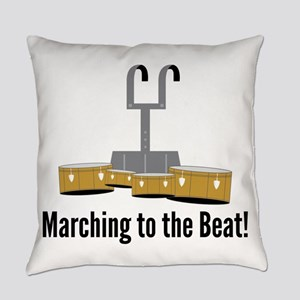 Marching Beat Everyday Pillow