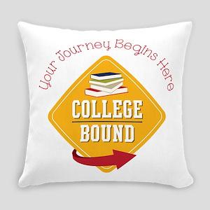 Journey Begins Everyday Pillow