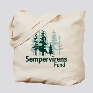 Sempervirens Fund logo no tagline Tote Bag