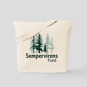 Sempervirens Fund logo no tagline Tote Bag