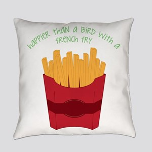 A French Fry Everyday Pillow