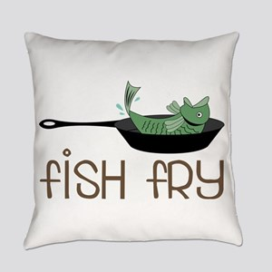 Fish Fry Everyday Pillow