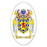Maitland Sticker (Oval 10 pk)