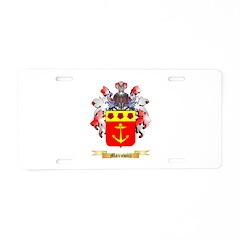 Mairowicz Aluminum License Plate