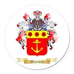 Mairovitz Round Car Magnet