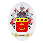 Mairoff Oval Ornament