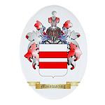Mainwaring Oval Ornament