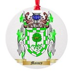 Mainey Round Ornament