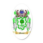 Mainey Oval Car Magnet