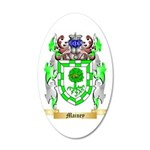 Mainey 35x21 Oval Wall Decal