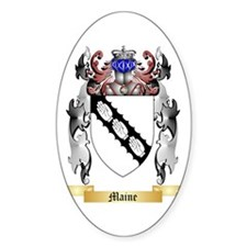 Maine Sticker (Oval)