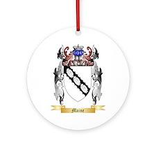Maine Round Ornament