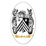 Main 2 Sticker (Oval 50 pk)
