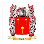 Mailly Square Car Magnet 3