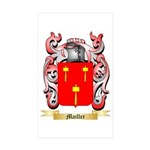 Mailler Sticker (Rectangle 50 pk)