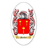 Mailler Sticker (Oval 50 pk)