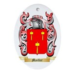 Mailler Oval Ornament