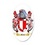 Maile Oval Car Magnet