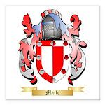 Maile Square Car Magnet 3