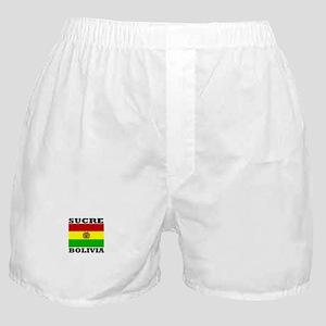 Sucre, Bolivia Boxer Shorts