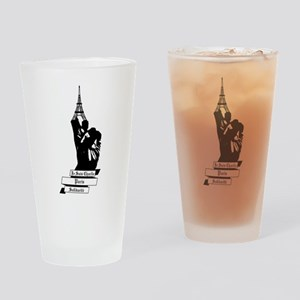 Peace for Paris Drinking Glass