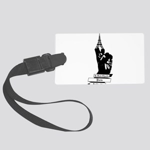 Peace for Paris Large Luggage Tag