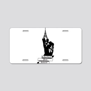 Peace for Paris Aluminum License Plate
