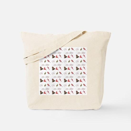 Christmas combo Tote Bag