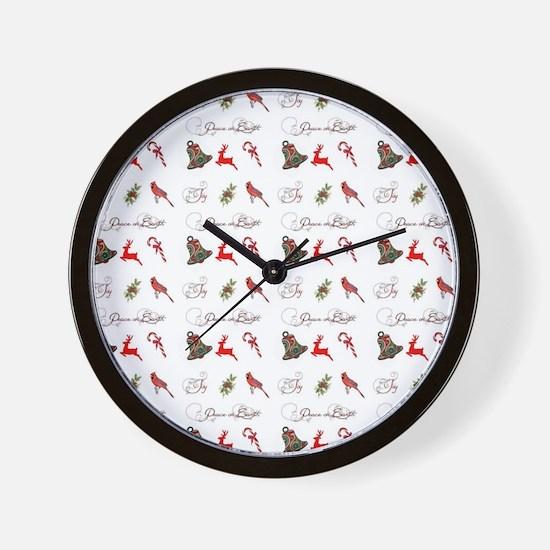 Christmas combo Wall Clock