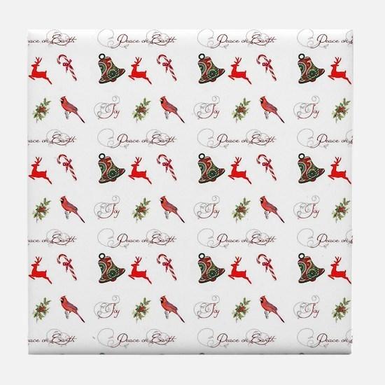Christmas combo Tile Coaster