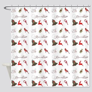 Christmas combo Shower Curtain