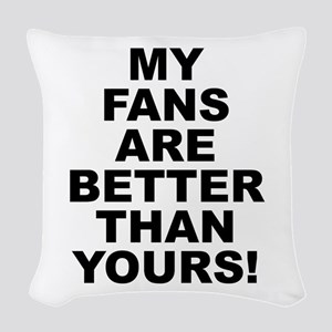 M.f.a.b.t.y. Woven Throw Pillow