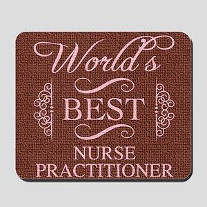 World's Best Nurse Practitioner Mousepad