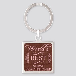 World's Best Nurse Practitioner Keychains