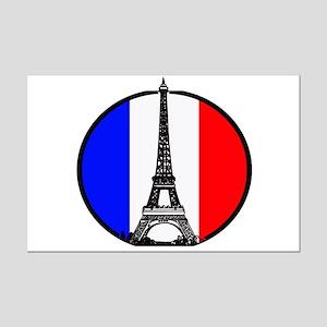 Paris France Mini Poster Print
