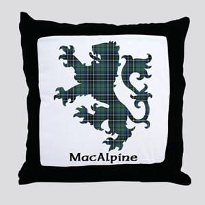 Lion - MacAlpine Throw Pillow