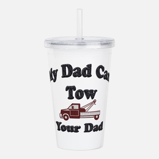 Towing Dad Acrylic Double-wall Tumbler