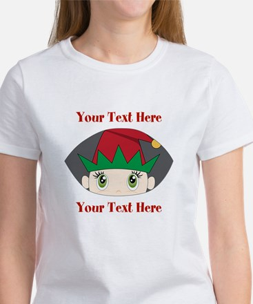 CUSTOM Peeking Elf T-Shirt