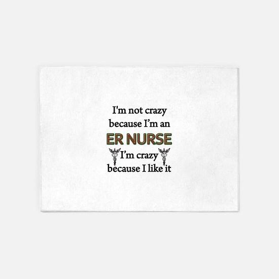ER Nurse 5'x7'Area Rug