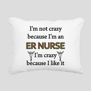 ER Nurse Rectangular Canvas Pillow