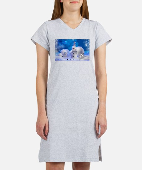 snowman Women's Nightshirt