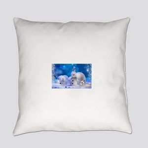 snowman Everyday Pillow