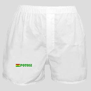 Potosi, Bolivia Boxer Shorts